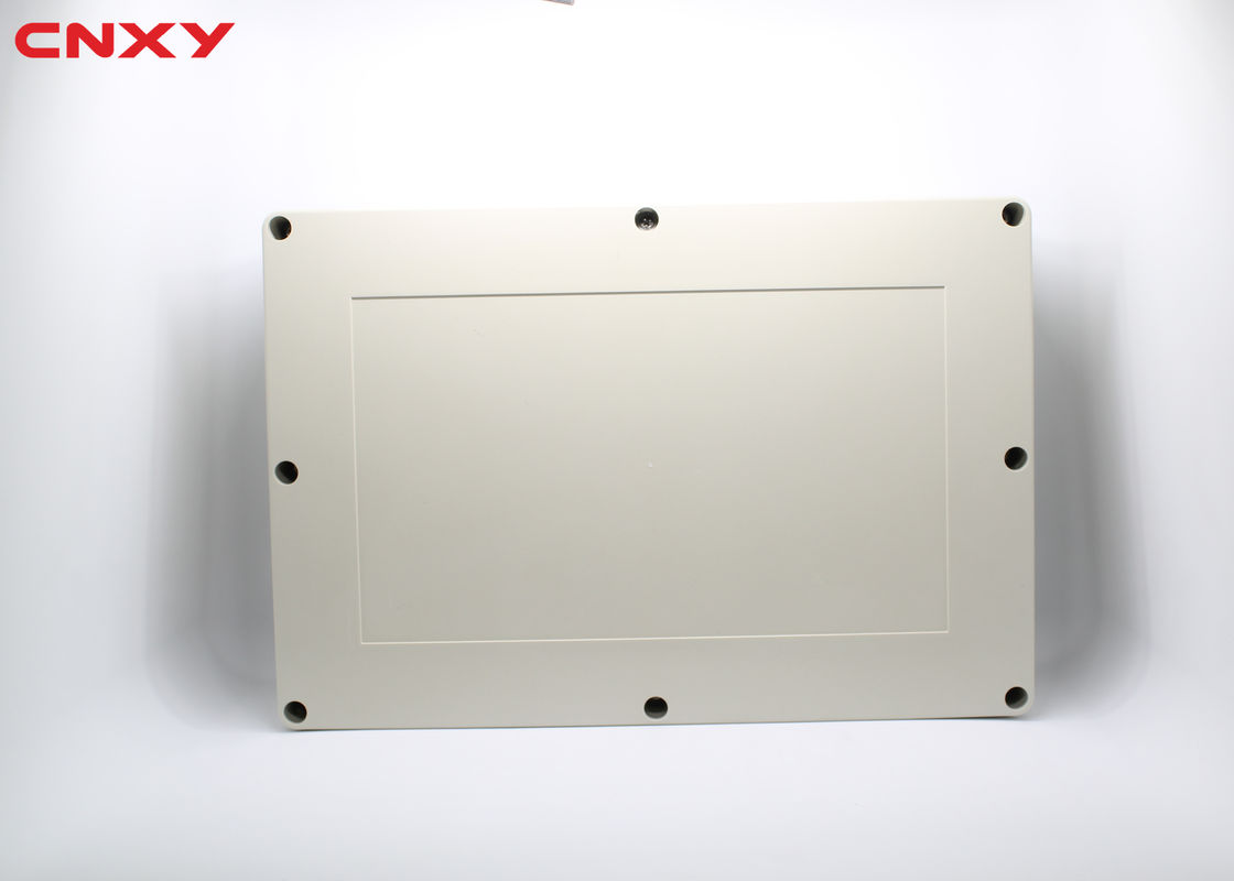 Grey Outdoor Electrical Box Enclosure , Ip65 Junction Box ABS Material