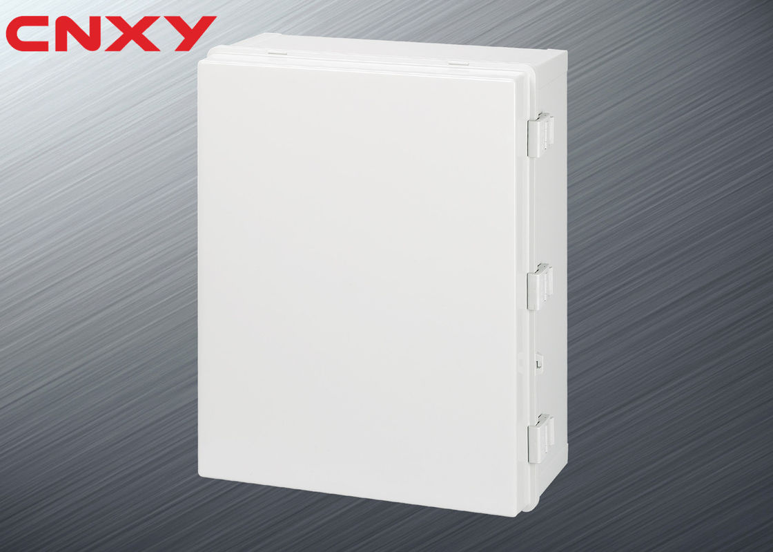 Grey Cable Distribution Box , Electrical Control Box 500*400*200 Mm
